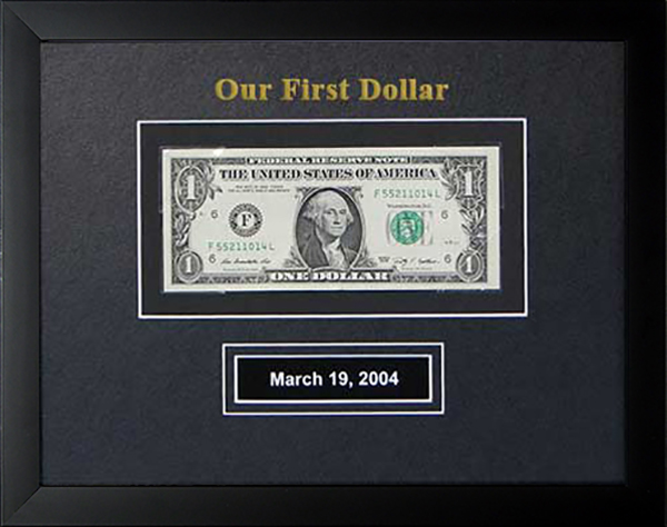 *NEW* Embossed - Our First Dollar