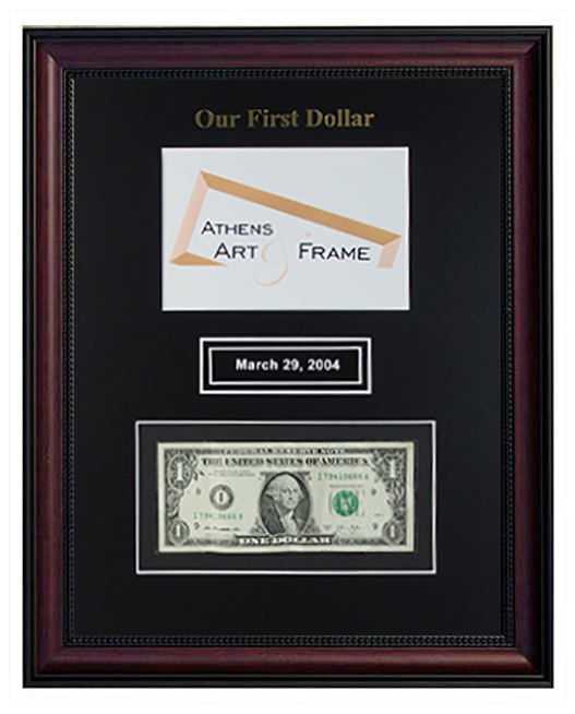 * NEW* First Dollar with your Logo