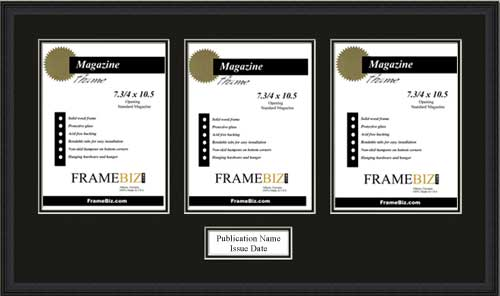 Triple Page Magazine Frame Frame for 3 pages from a magazine ...