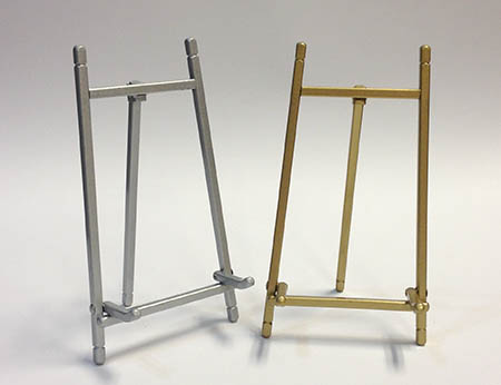 "5"" Brass or Silver Easel"