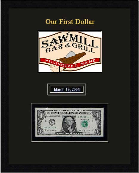 First Dollar with Logo