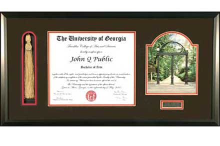 Diploma: Diploma Frame With Tassel Holder