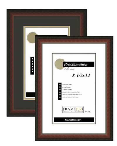 Regency Proclamation Frame